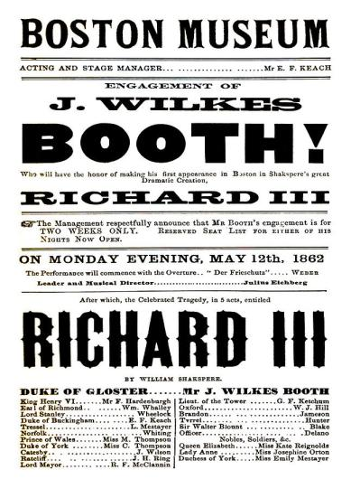 john-wilkes-booth-playbill-charles-ross
