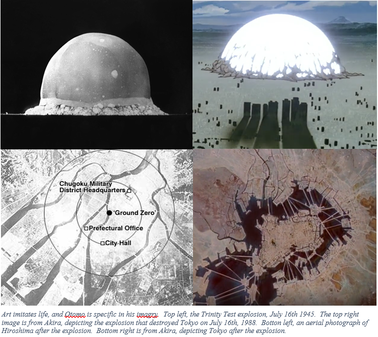 Akira And The Nuclear Bomb The Dangers Of Science Without A Conscience Assorted Musings From An Unknown Historian